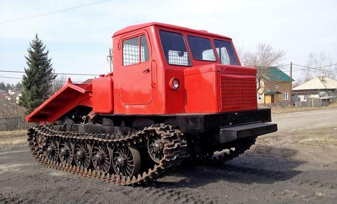 Трактор трелевщик