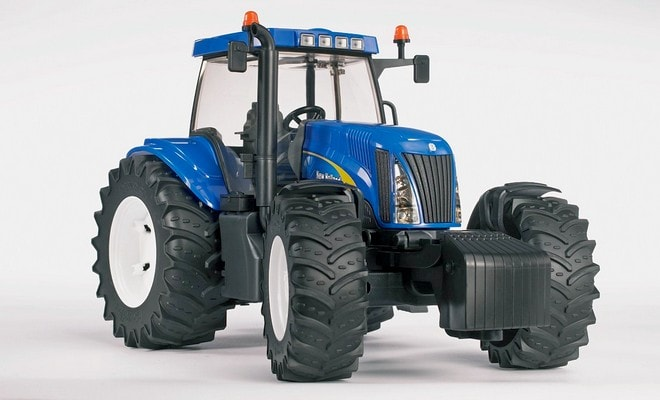 Турбодизельный трактор