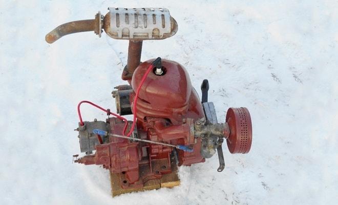 Устройство для пуска трактора