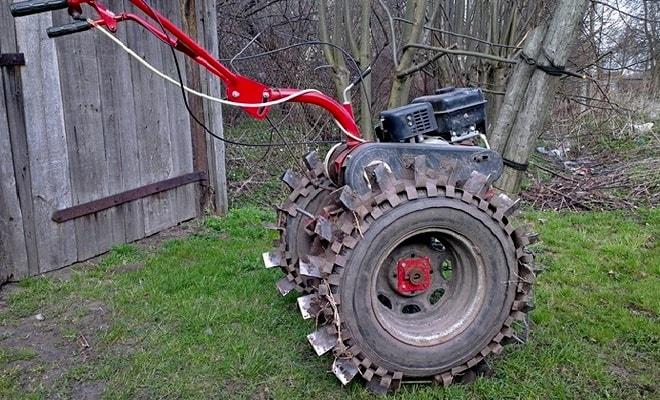 Увеличенные колеса