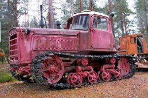 Характеристики и обзор гусеничного трактора ВТЗ ДТ-75 Казахстан