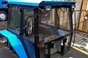 Как сделать самодельную кабину на трактор МТЗ