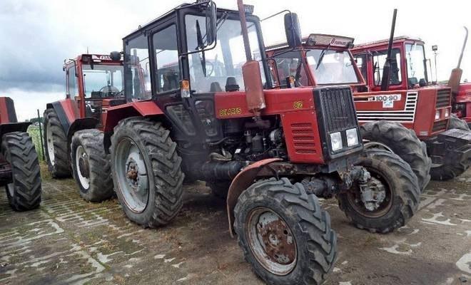 БУ трактора