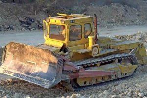 Обзор тяжелого промышленного бульдозера ЧЗПТ Т-330