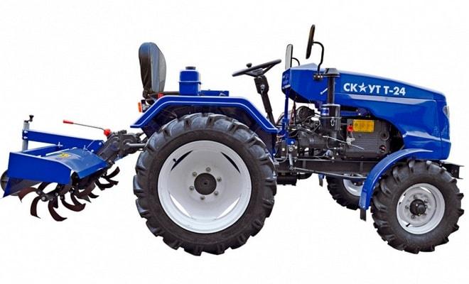 Колесный мини-трактор