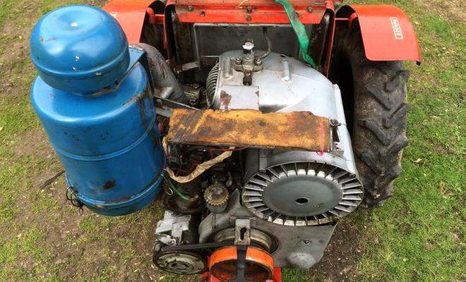 Мотор мини-трактора