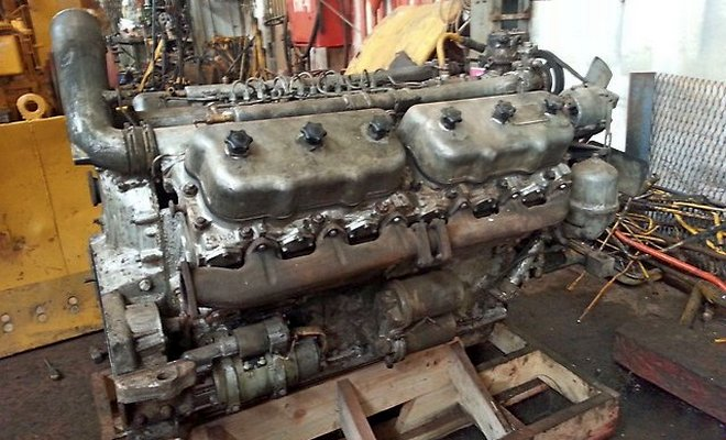 Мотор ЯМЗ-240МБ
