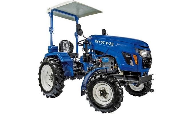 Небольшой трактор