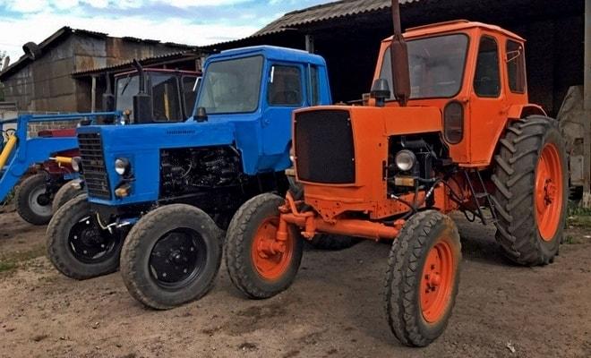 Популярные трактора
