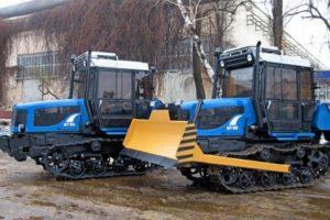 Особенности гусеничных тракторов и области их применения