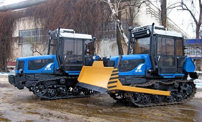 Проходимые трактора