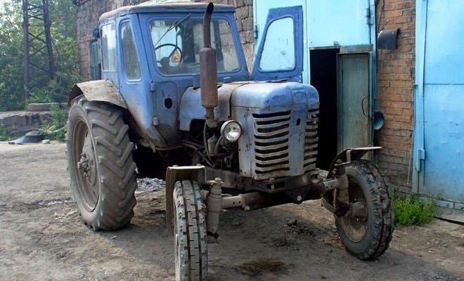 Регулировка колеи трактора