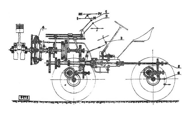Схема КПП TZ-4K-14