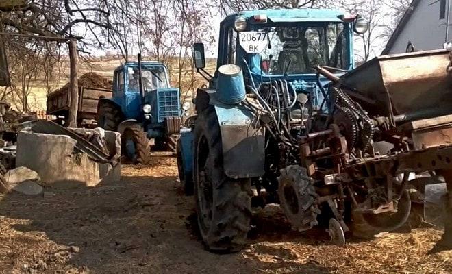 Сравнение тракторов