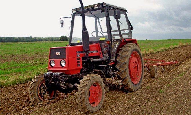 Трактор на дизеле