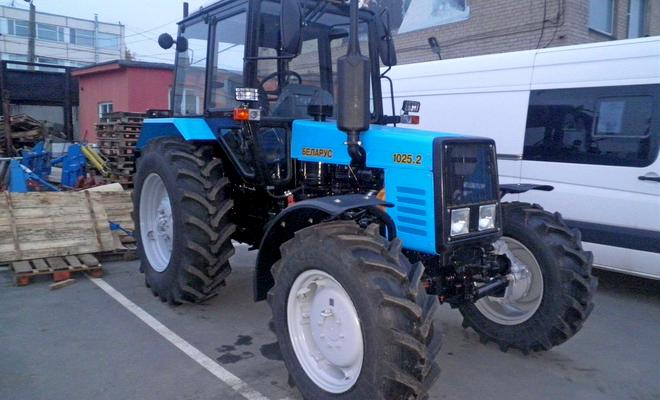Трактор после ремонта