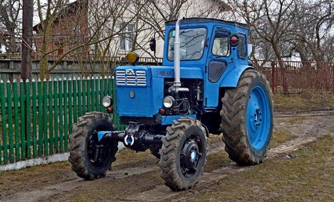 Трактор Сороковка