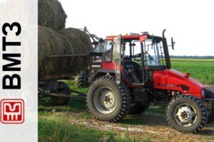 Мощный трактор ВТЗ-2048 из модельного ряда Владимирского тракторного завода