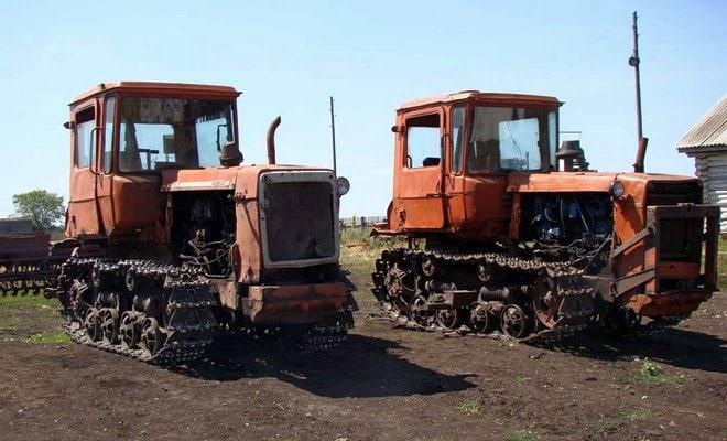 Дизельные трактора