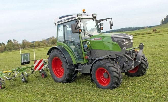Экологически чистый трактор