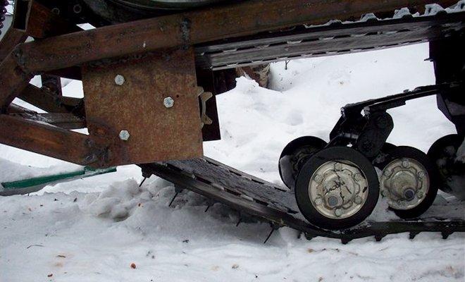 Ходовая снегохода