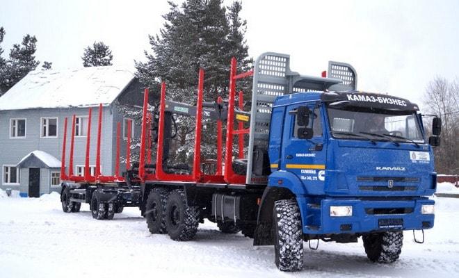 Лесовоз Камаз