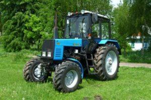 Технические характеристики многофункционального трактора МТЗ Беларус-892