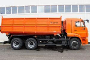 Технические характеристики и особенности грузового самосвала КамАЗ-45143