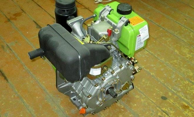 Мотор на дизеле