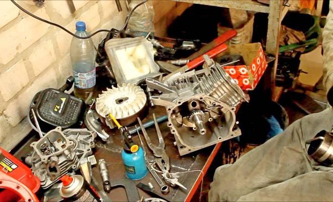 Ремонт мотора мотоблока