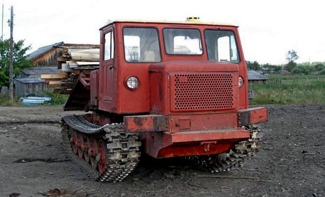 Трелевщик ТДТ-60