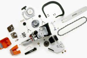Устройство бензопилы и важные правила обращения с бензоинструментом