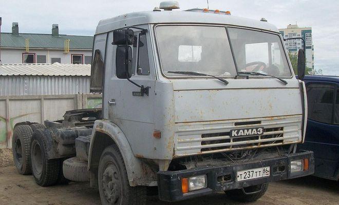Дизайн грузовика КамАЗ