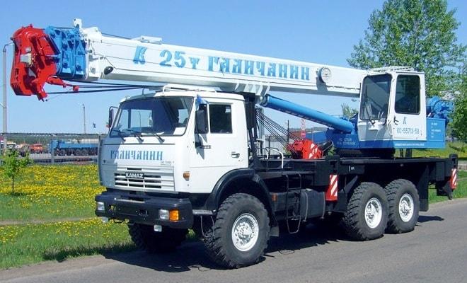 Кран двадцать пять тонн