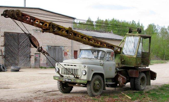 Кран ГАЗ-53А