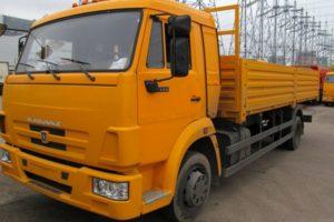 Обзор среднетоннажного грузового автомобиля многоцелевого назначения КамАЗ-4308