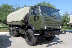 Технические характеристики грузового автомобиля повышенной проходимости КамАЗ-4310