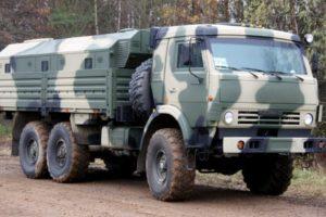 Грузовой автомобиль военного назначения КамАЗ-5350 Мустанг