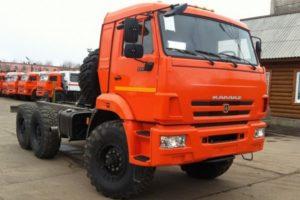 Обзор характеристик седельного тягача высокой проходимости КамАЗ-53504