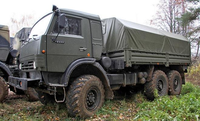 Подвеска грузовика