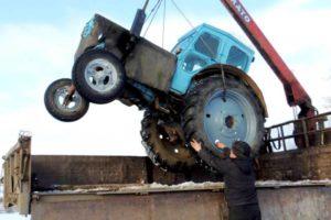 На чем лучше перевезти колесный или гусеничный трактор на дальнее расстояние