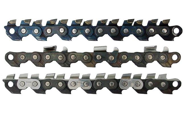Различные цепи для мотопилы