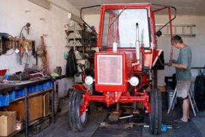 Руководство по самостоятельному ремонту рабочих узлов трактора Т-25