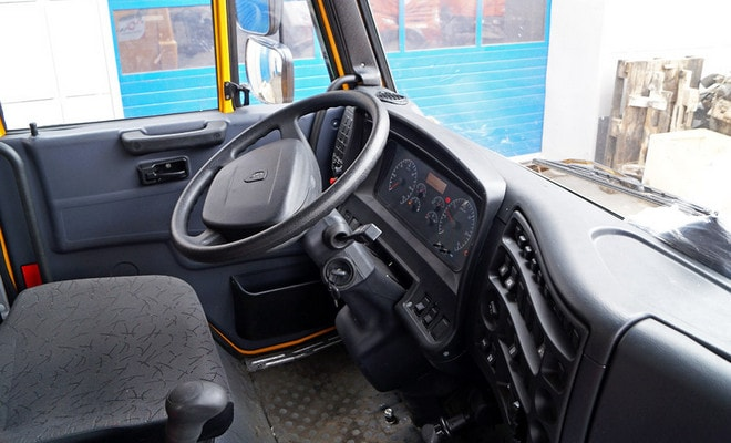 Руль грузовика КамАЗ