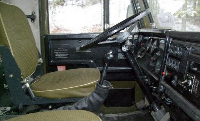 Салон грузовика КамАЗ