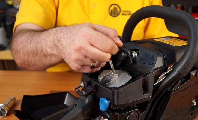 Самостоятельный ремонт мотопилы