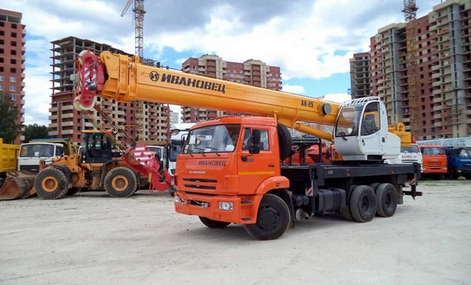 Шасси КамАЗ-65115