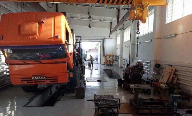 Установка двигателя на шасси
