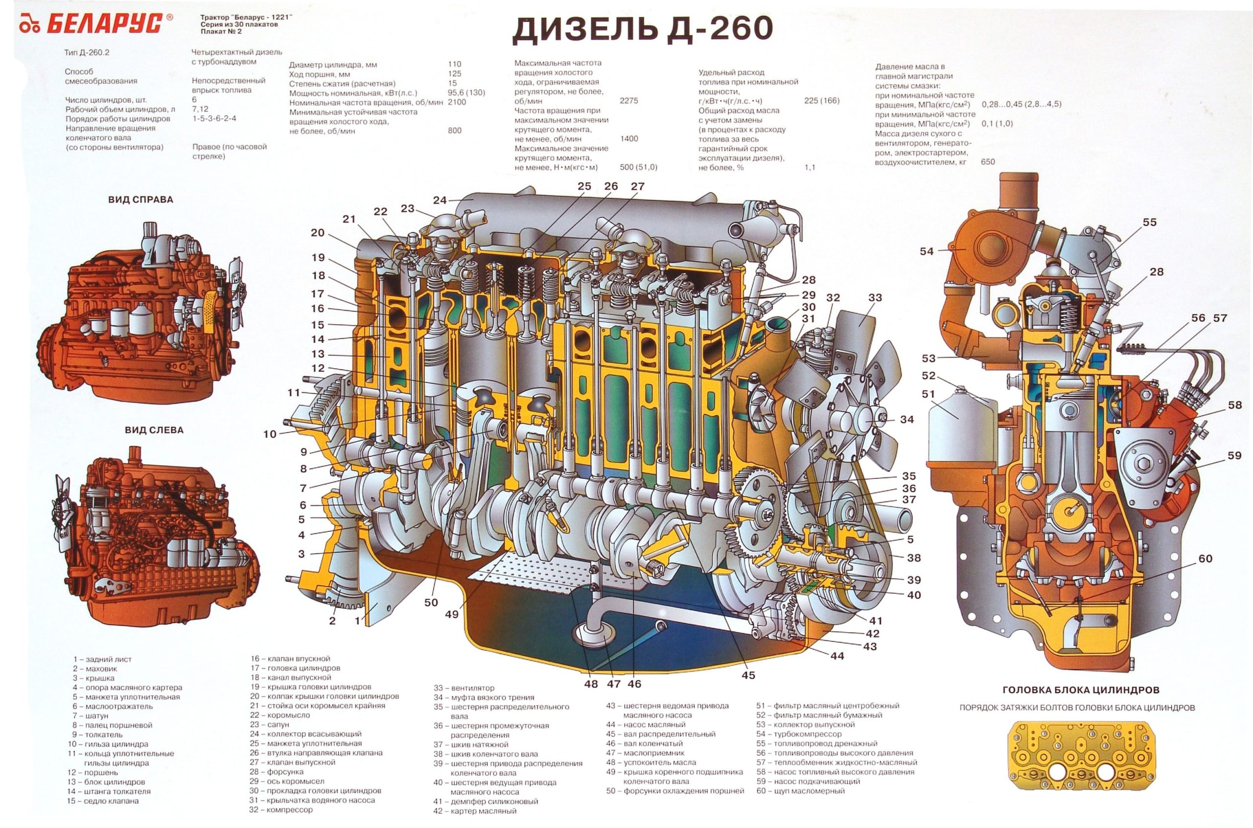 Дизель Д-260 Беларус