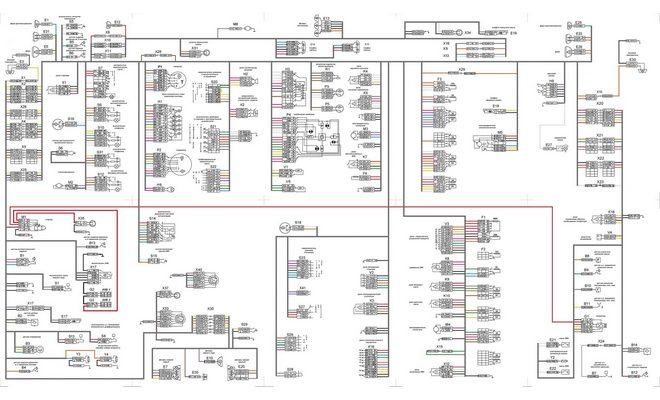 Электросхема оборудования